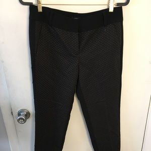 LOFT Gold and Black Dress Pants
